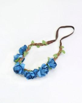 Haarband Adelheid blau