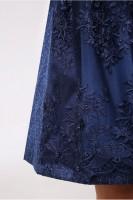 Preview: Dirndl Floria blau 50cm
