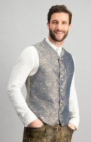 Preview: Trachten vest Wallace blue