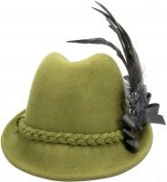 Vorschau: Trachtenhut Marie Filz grün
