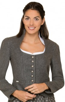 Traditional jacket Sulmona in gray