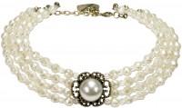 Vorschau: Trachten-Perlenkette Ellie cremeweiß