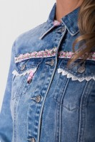Preview: Jeansjacke Denim Dream rosa