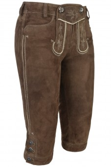 Kniebundlederhose Verena murmel