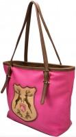 Vorschau: Trachten Handtasche mit Hirschwappen pink