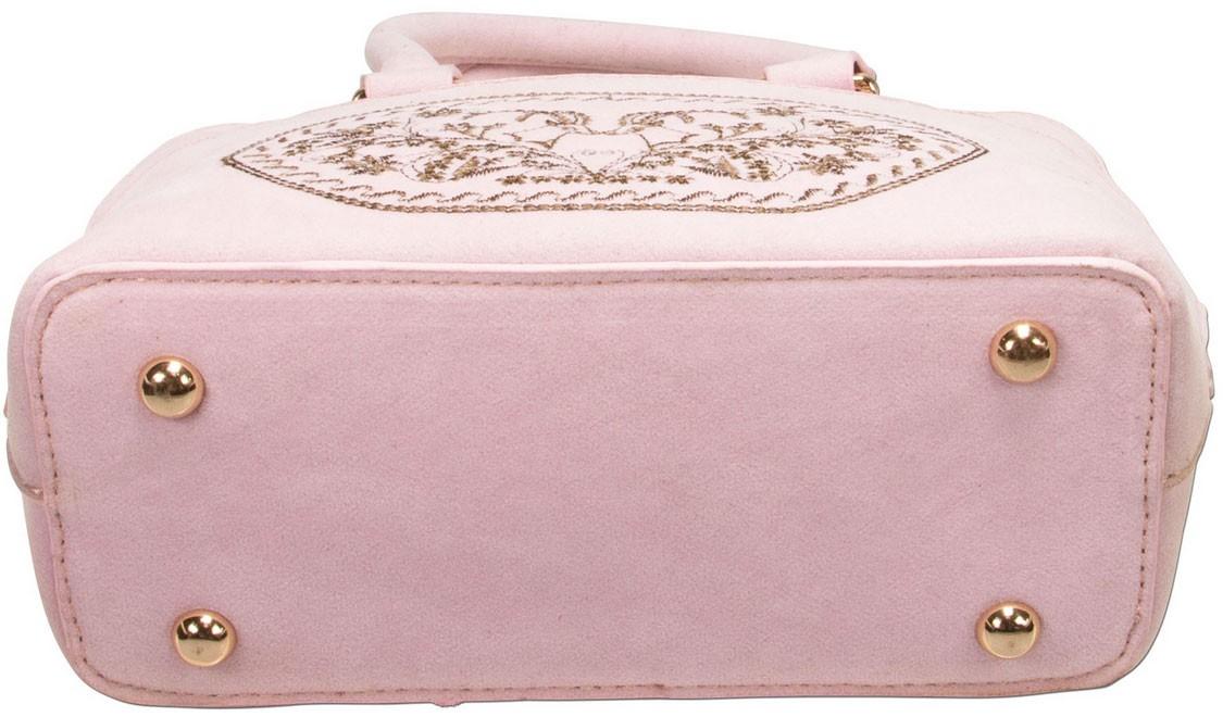 Trachtentasche Steinbock rosé