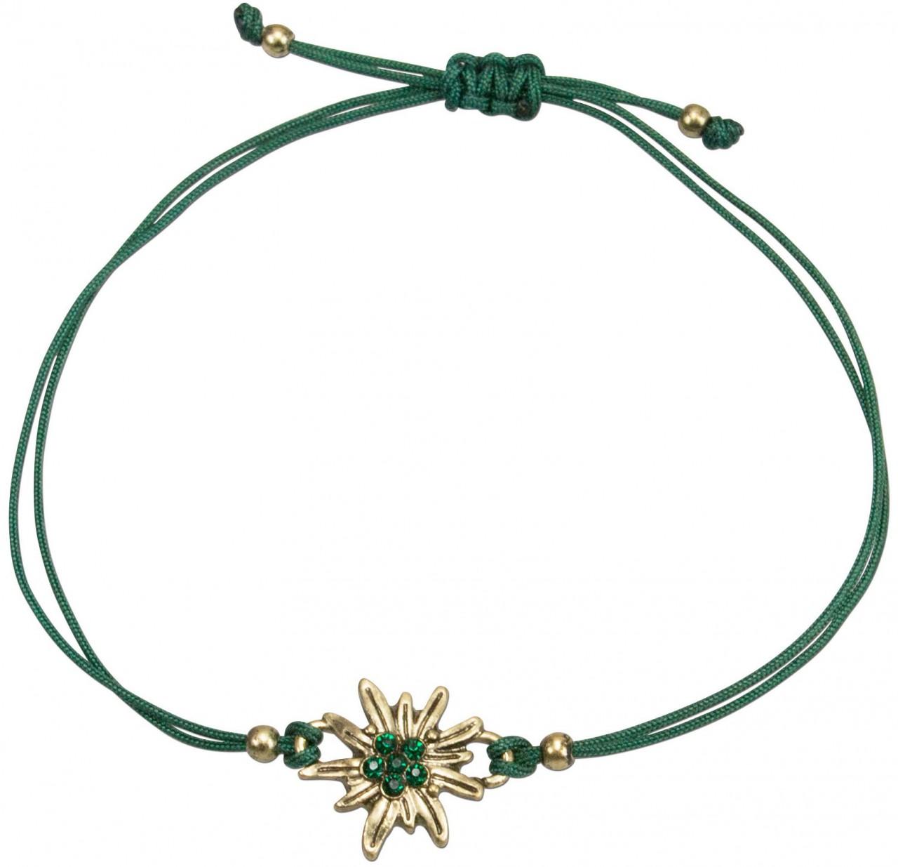 Trachten Armband- Set grün