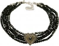 Vorschau: Perlen-Kropfkette Lara schwarz