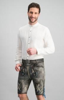 Lederhose Bayern Bua in gray