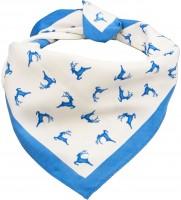 Vorschau: Trachten Tuch Hirschfestl blau