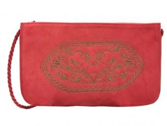 Clutch Tasche Merini rot