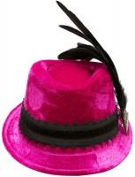 Vorschau: Samthut Sophie pink