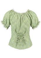 Vorschau: Trachtenhemd Monja grün