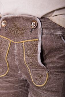Skórzane spodnie Native