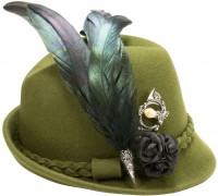 Vorschau: Filzhut Romy grün