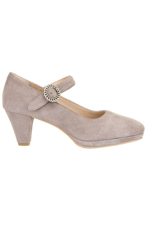 Dirndl Pumps Janet in taupe