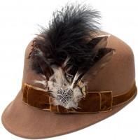 Vorschau: Trachtenhut Kappe Louisa braun