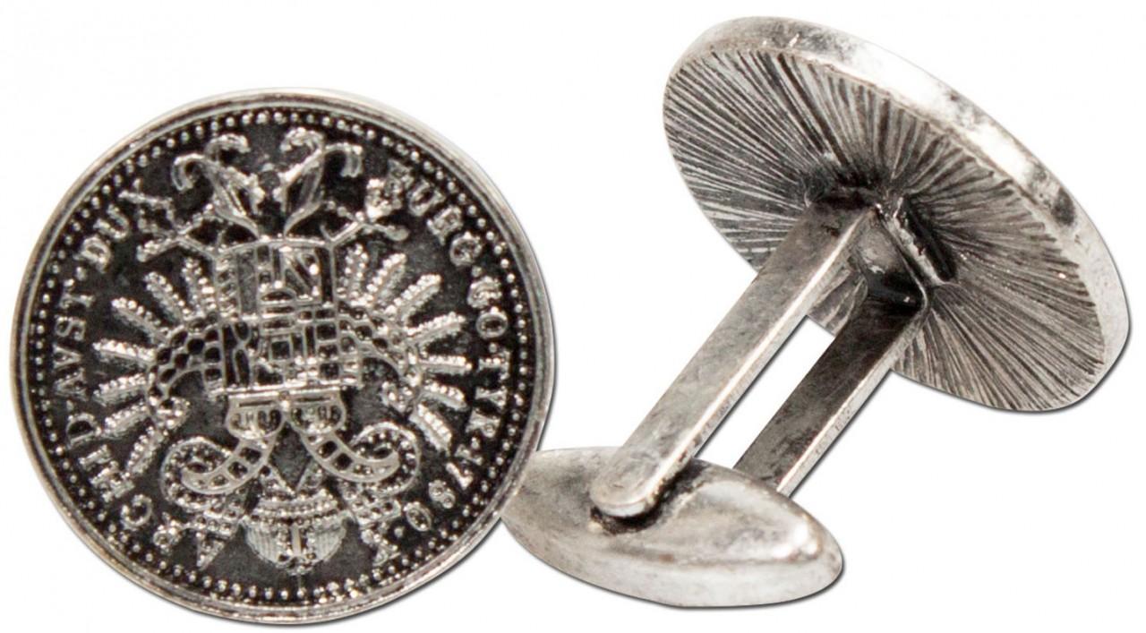 Altmünzen Manschettenknöpfe