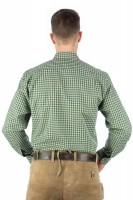 Vorschau: Trachtenhemd Bertl grün-beige