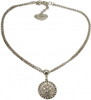 Trachten Halskette Silbertaler