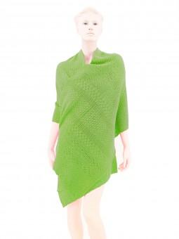 Dirndl-Poncho grün
