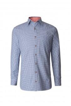 Langarmhemd Dave blau