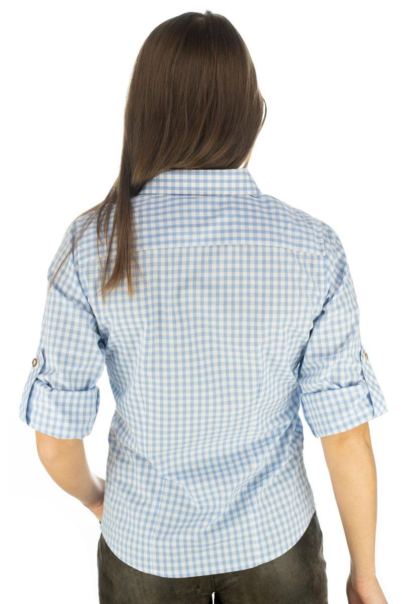 Bluzka damska Caroline jasnoniebieska