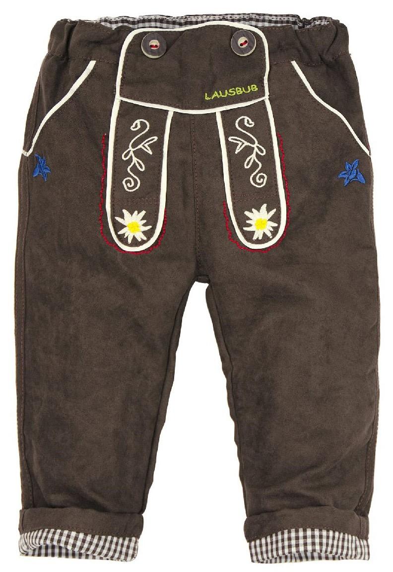 "Spodnie ze skóry syntetycznej ""Lausbub"""