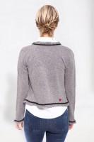 Vorschau: Trachtenjacke Pearl grau-schwarz