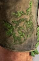 Vorschau: Lederhose Rudolf grün