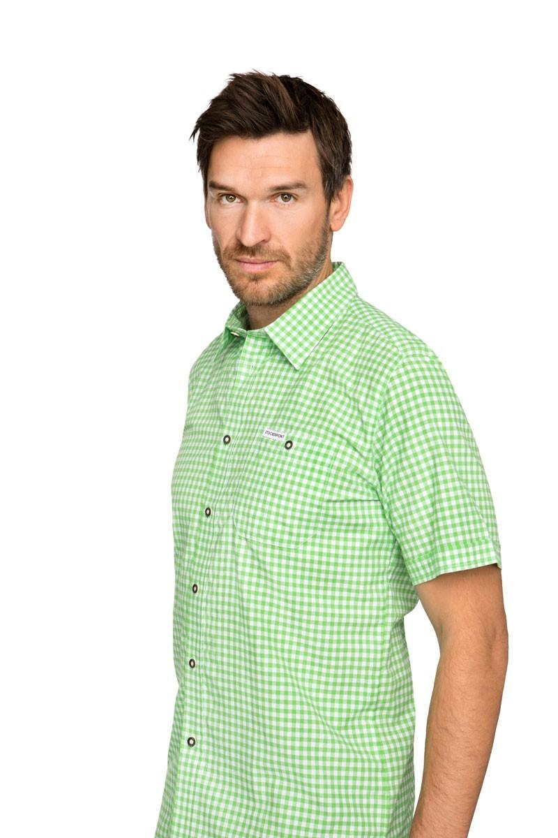 Kurzarmhemd Renko grün