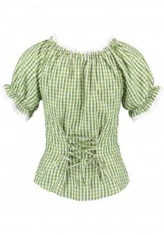 Trachtenhemd Monja grün