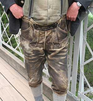 Lederhose für Männer