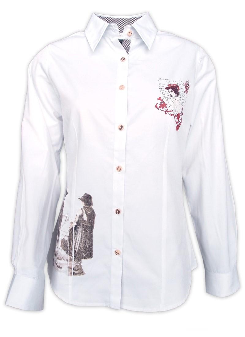 Kostuumblouse Matti wit