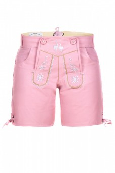 Ladies Lederhose, Pink
