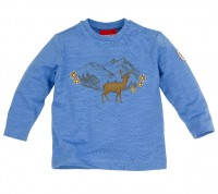 Vorschau: T-Shirt langarm 'Bergsilhouette'
