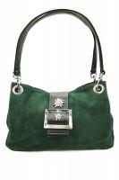 Handtasche Wildleder - grün