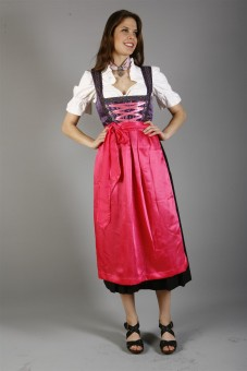 Dirndl Purple