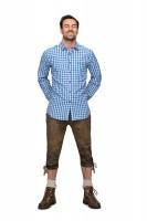 Vorschau: Langarmhemd Mitchel blau