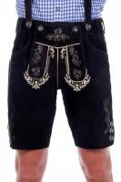 Lederhose Alfons schwarz Größe 46