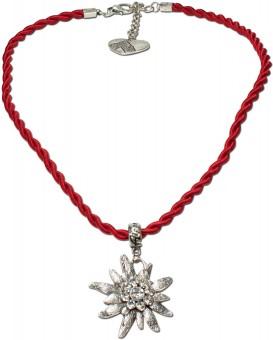 Trachtenkette Amelie rot
