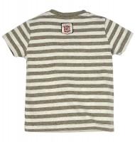 Vorschau: T-Shirt gestreift 'Wanderstiefel'