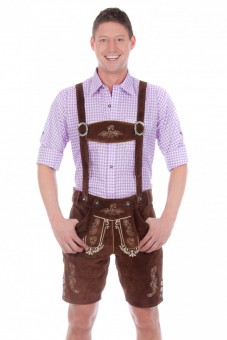 Lederhose Alfons, Dark Brown