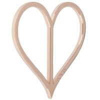 Preview: Dirndlspangerl hart rose goud