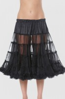 Vorschau: Petticoat in Schwarz 50cm