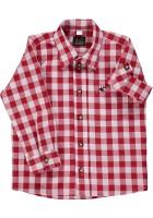 Vorschau: Kinderhemd Ederl rot