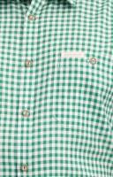 Traditional shirt Renko in dark green