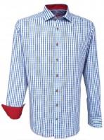 Vorschau: Trachtenhemd Taro blau