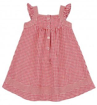 Trachtenkleid rot/weiß