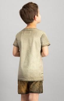Trachtenshirt Monty für Kinder sand